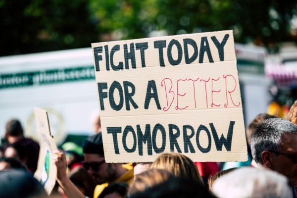 Fight for a better future